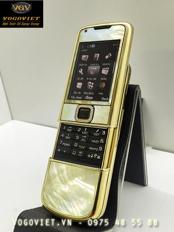 Nokia 8800 Mạ Vàng - Khảm Trai Vô Cùng Độc Đáo ảnh 1