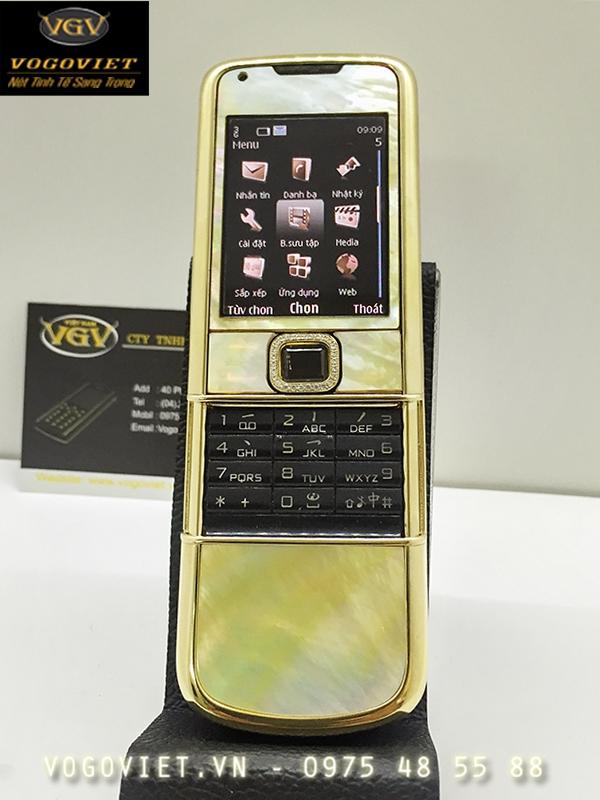 Nokia 8800 Mạ Vàng - Khảm Trai Vô Cùng Độc Đáo ảnh 3