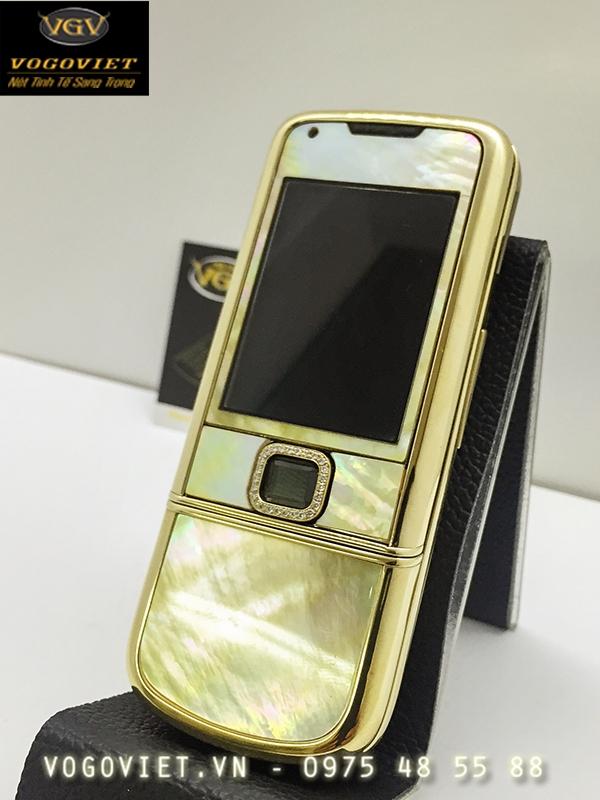 Nokia 8800 Mạ Vàng - Khảm Trai Vô Cùng Độc Đáo ảnh 2