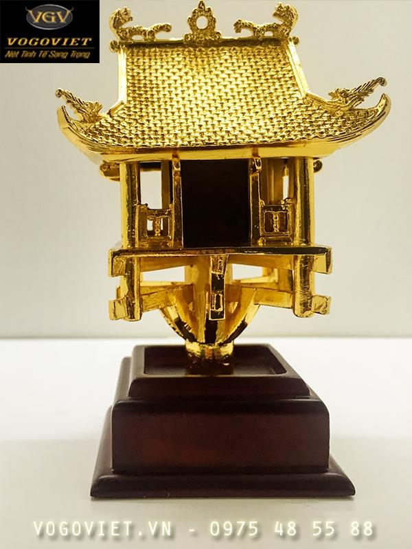 Chùa Một Cột Mạ Vàng Đậm Nét Truyền Thống Việt ảnh 2