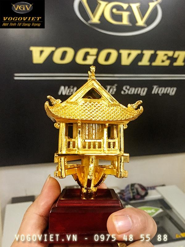 Chùa Một Cột Mạ Vàng Đậm Nét Truyền Thống Việt ảnh 3
