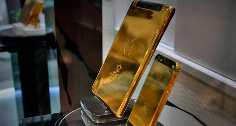 Dịch vụ mạ vàng điện thoại iPhone, Samsung, Vertu, Mobiado...