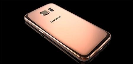 Galaxy S6 mạ vàng 24K