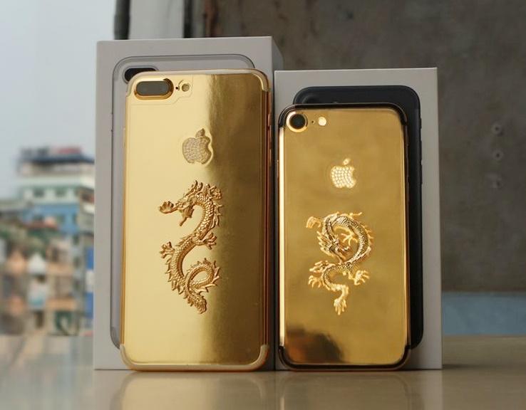 Iphone 7/7 Plus Mạ Vàng