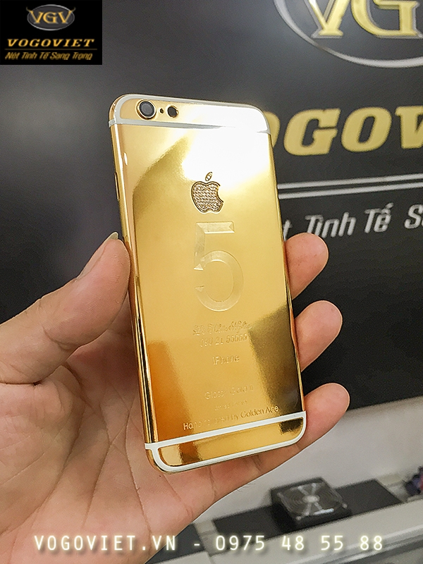 Sản Phẩm IPHONE 6 Mạ Vàng Đẳng Cấp Thời Thượng 2