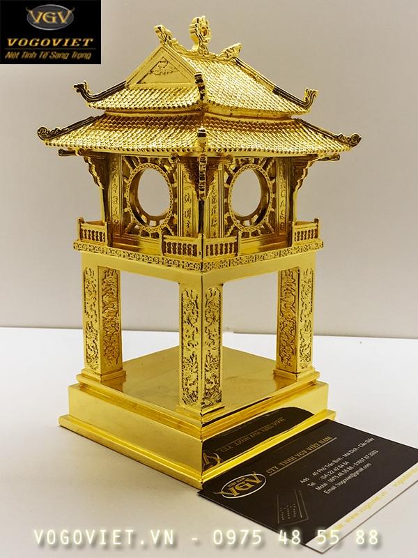 Khuê Văn Các mạ vàng quà tặng độc đáo mang ý nghĩa văn hóa 2