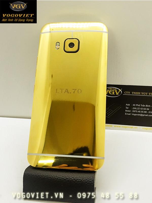 HTC One M9 Mạ Vàng Sang Trọng Và Đẳng Cấp 2