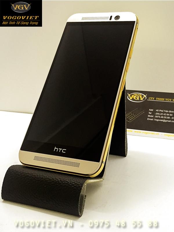 HTC One M9 Mạ Vàng Sang Trọng Và Đẳng Cấp