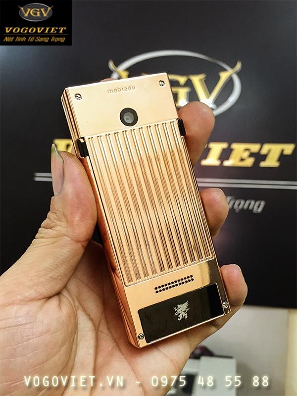 Điện thoại Mobiado Professional 3AF Mạ Vàng Độc Đáo 3
