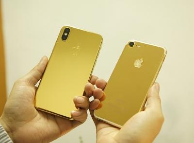 Mạ vàng Iphone XS