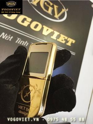 Mạ Vàng Nokia 8800