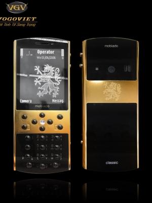 Mobiado 712 Burl Gold khung mạ vàng cao cấp kính chống xước phím saphire Mobiado 712 Burl Gold