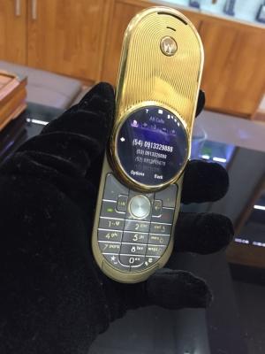 Motorola Aura Mạ Vàng