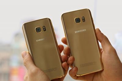 SamSung S7 & S7 Edge Mạ Vàng