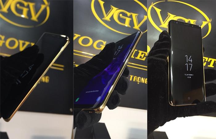 Galaxy S9 Mạ Vàng